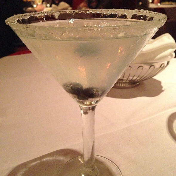 Blueberry Lemontini - Petterino's, Chicago, IL