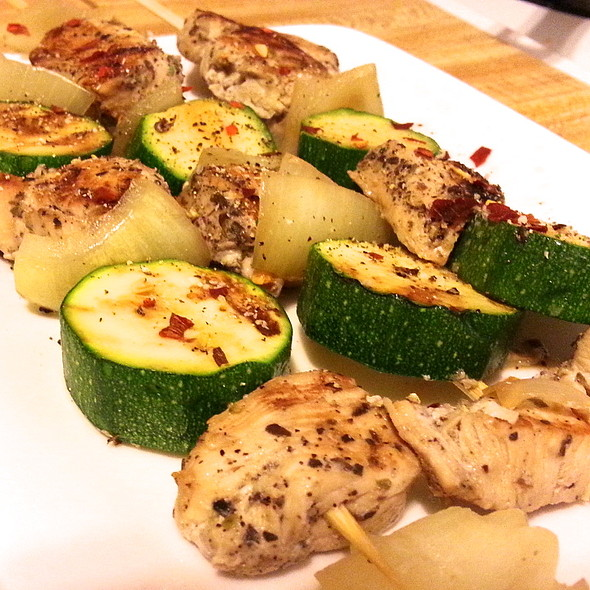 chicken kabob @ Tenny's Sweet Home