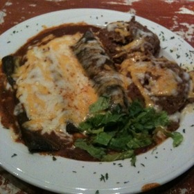 Blue Corn Enchiladas