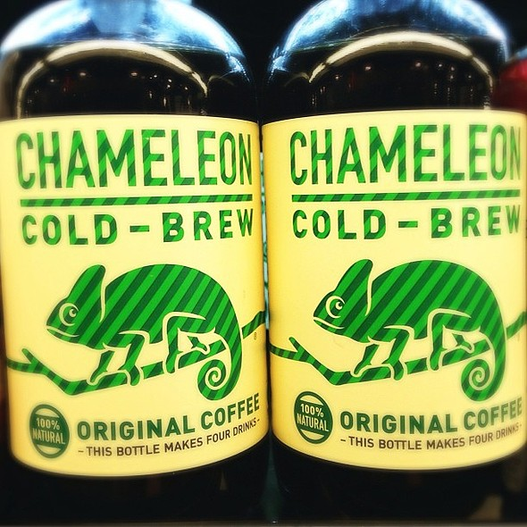 I have heard great things about @ChameleonCoffee Cold-Brew. Has anyone tried it!? @ Whole Foods Market