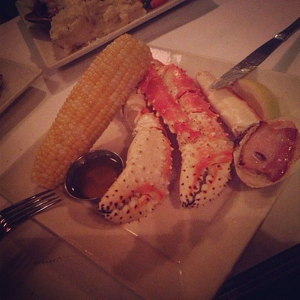 King Crab Entree @ Turner's Seafood Grill & Market
