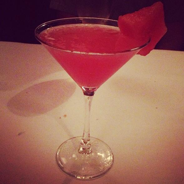Watermelon  Martini @ Turner's Seafood Grill & Market