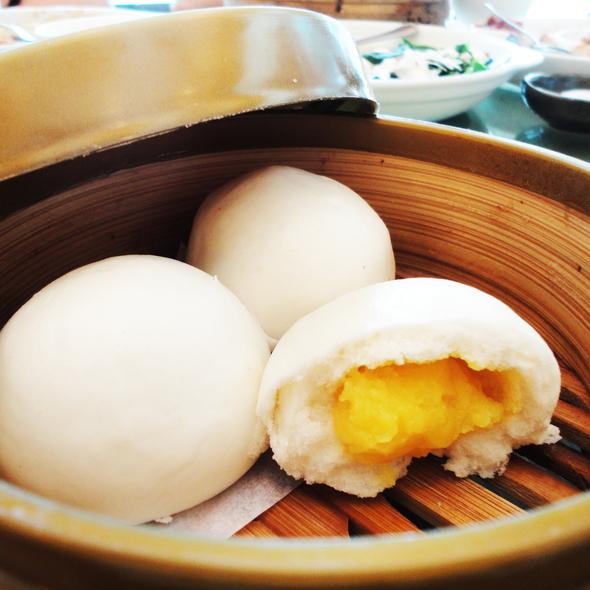 Creamy Egg Custard Bun @ Kirin Chinese Dining