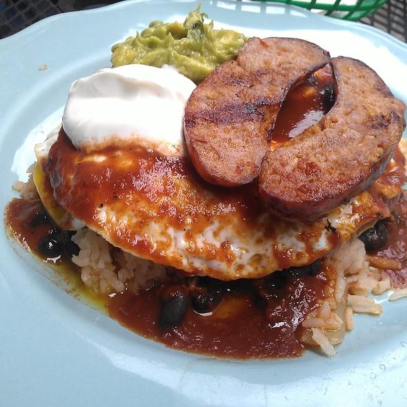 Huevos rancheros @ Papacitos Mexican Street Food Brooklyn
