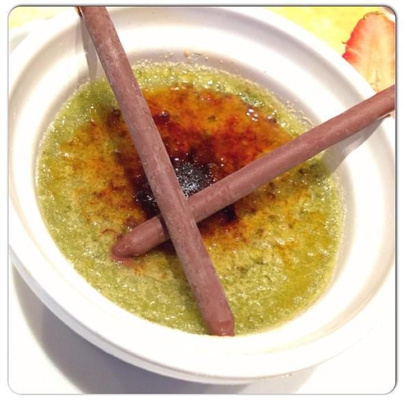 Green Tea Creme Brulee - Kanpai - Milwaukee, Milwaukee, WI