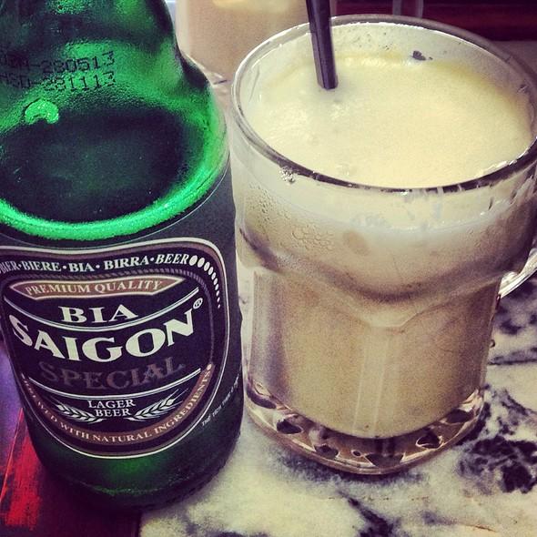 Egg Beer @ Cà phê Giảng