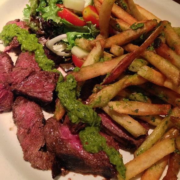 "Cuban Style ""Steak Frites"" - Clyde's of Reston, Reston, VA"