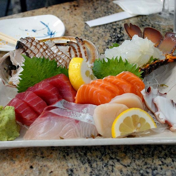 assorted sashimi @ Mitch's Fish Market & Sushi Bar