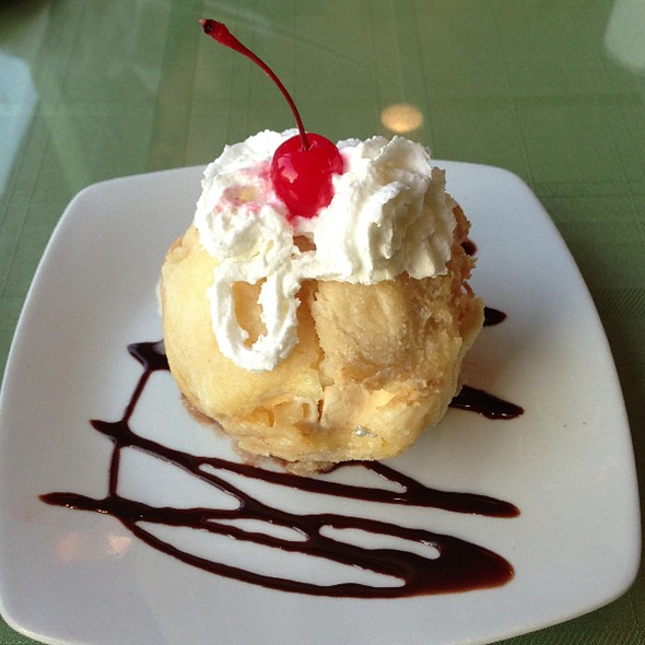 Fried Ice Cream @ Chilly Mango