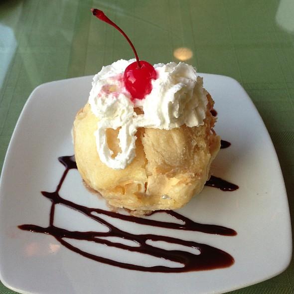 Fried Ice Cream @ Chilly Mango