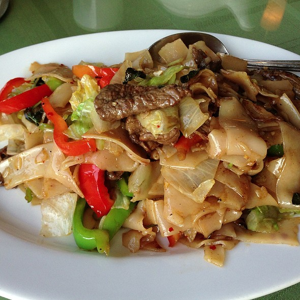 Pad Kee Mow @ Chilly Mango