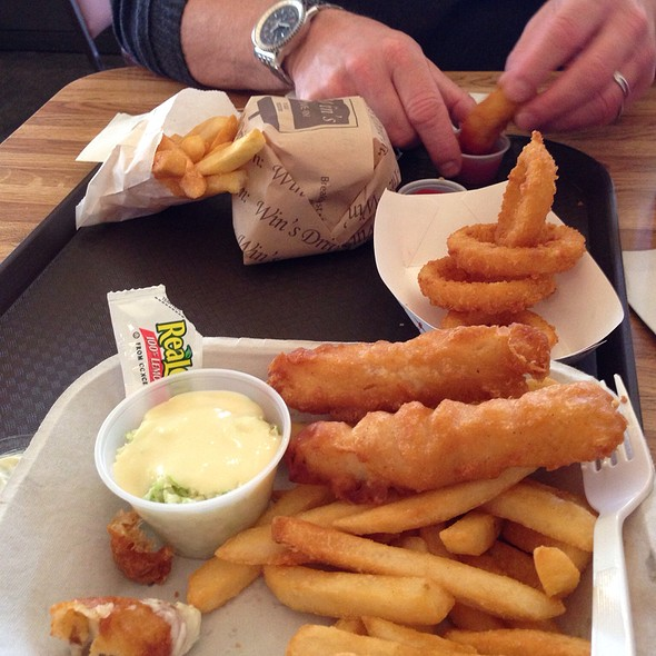 Fish & Chips @ Win's