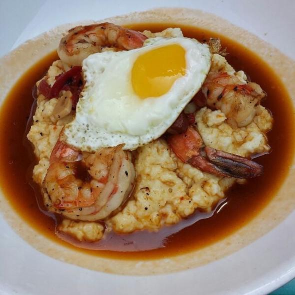 Shrimp and Grits @ Silk City Diner Bar & Lounge