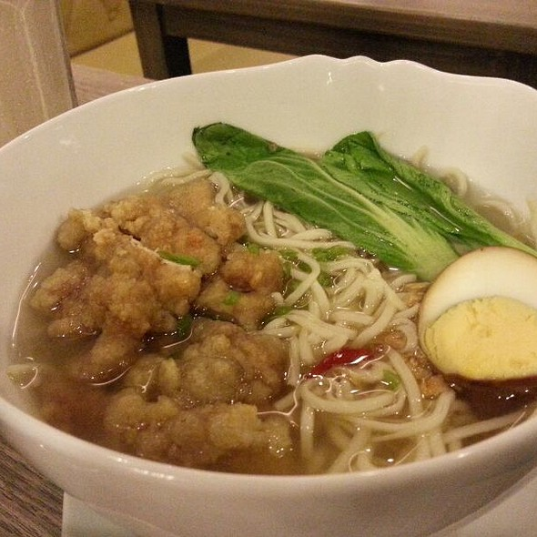 Taiwanese Chicken Chop Noodles