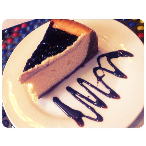 Blueberry Cheesecake @ Bannaple Too