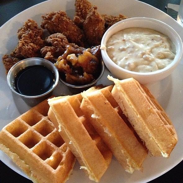 Fried Chicken & Waffles @ The Burgundian Tavern