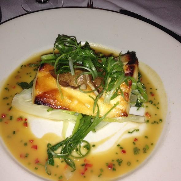 Pan Caramelized Miso-Yaki Sea Bass @ Prime 112 Restaurant