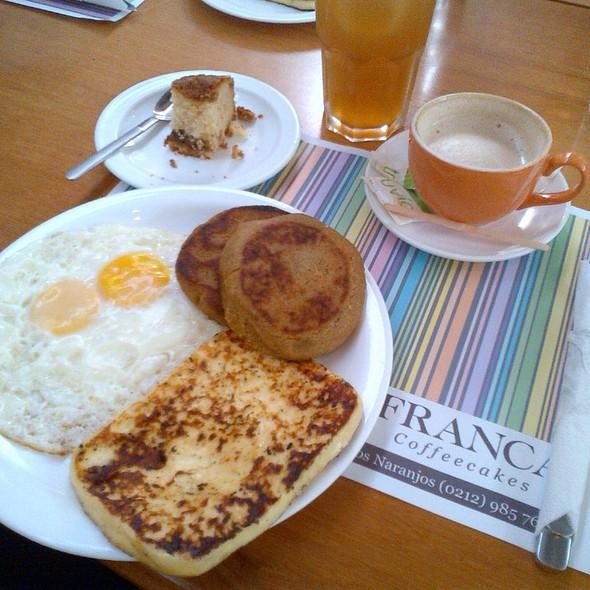 desayuno @ Franca Coffeecakes
