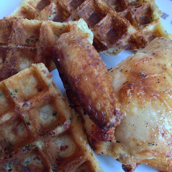 Chicken & Waffels - Bouchon, Yountville, CA