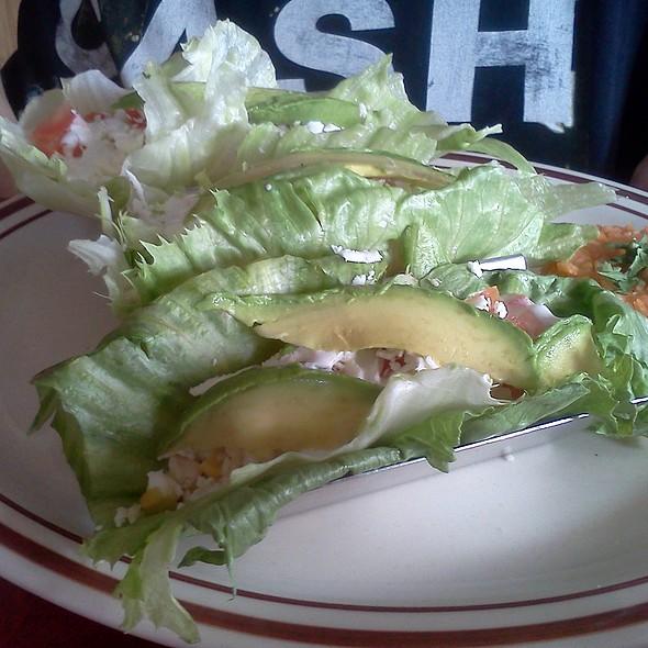 Lettuce Fish Tacos @ Tortas Guicho Dominguez y El Cubanito