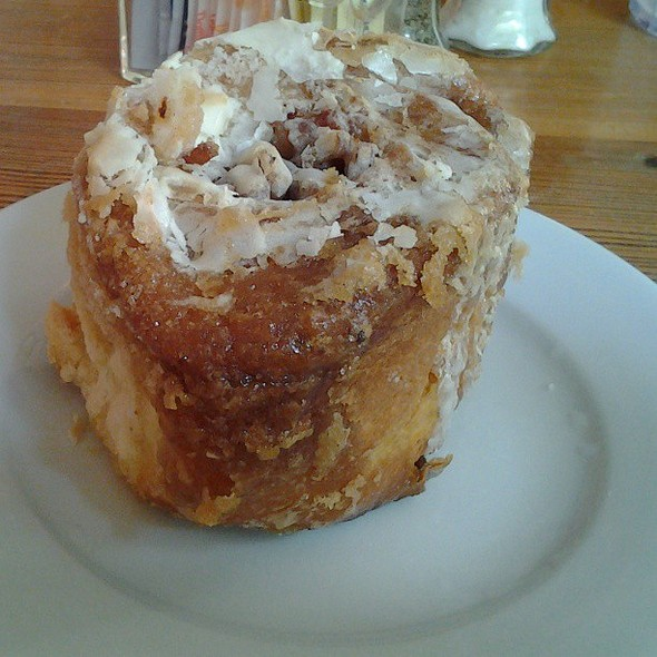 Cinnamon Sticky Buns With Bacon - Dante's Kitchen, New Orleans, LA