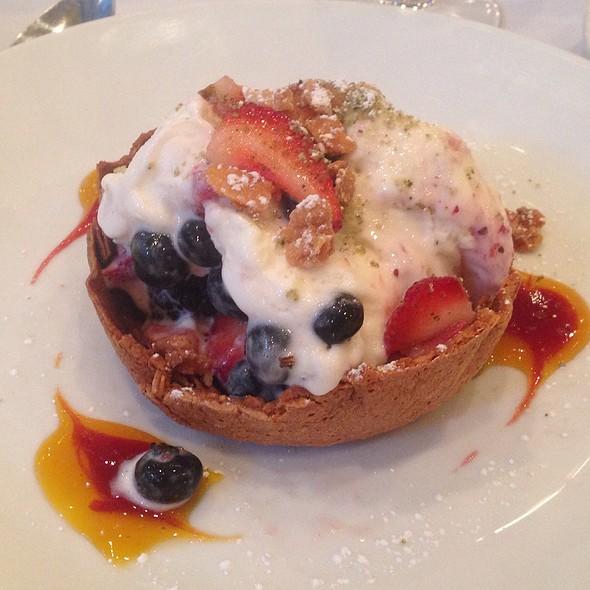 Mix Berries With Mascarpone Ice Cream - Bistro Milano, New York, NY