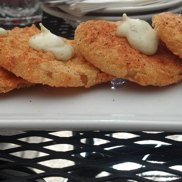 Fried Green Tomatoes @ Catahoula Bar & Restaurant