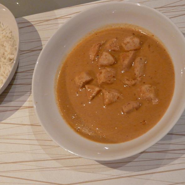 Curri rojo tailandés de cacahuete con pollo @ Cocinillas.es