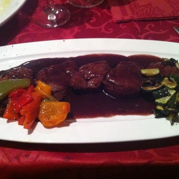 Schweinefilet In Rotweinsoße @ Di Vino
