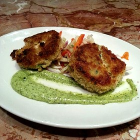 Flash Seared Crab Cakes
