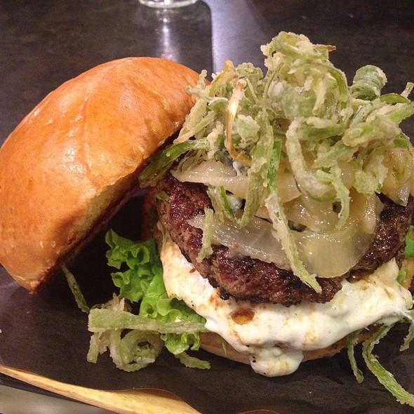 The Bleu # 2 Burger @ BurgerBar