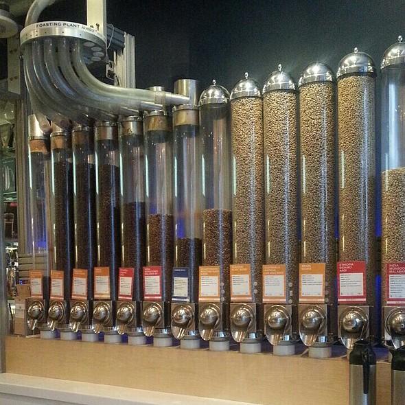 Coffee Beans @ Roasting Plant Coffee