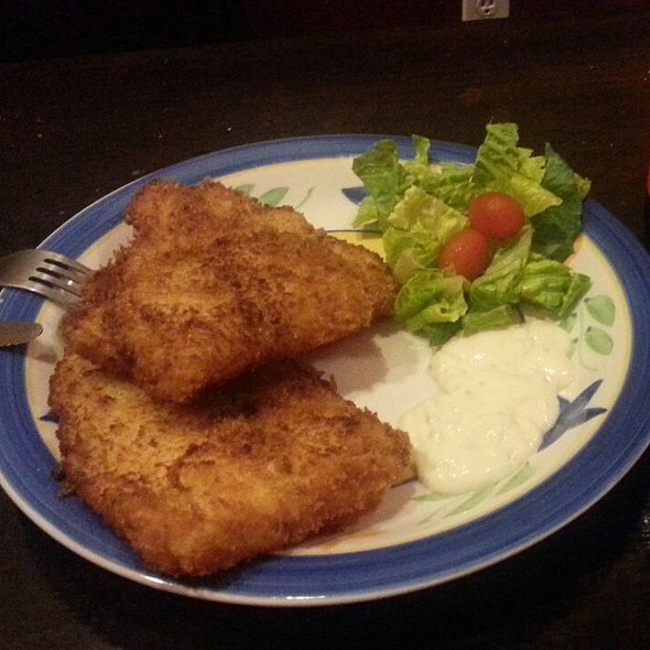 fried fish @ Iguazu Cafe & Grill