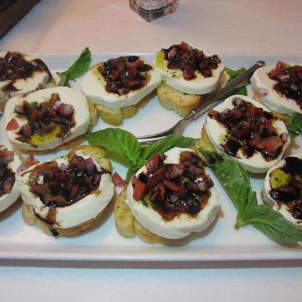 ... appetizers) - bufala di mozzarella, eggplant caponata, crostini toast