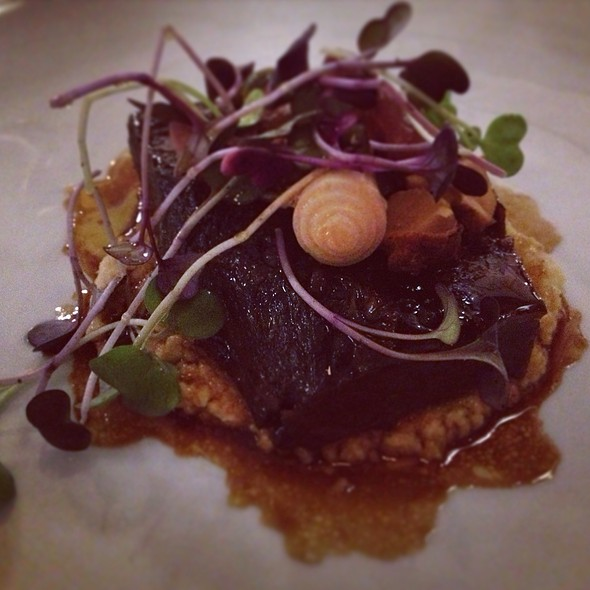 Braised Shortribs With Creamy Polenta @ Manzo @ Eataly