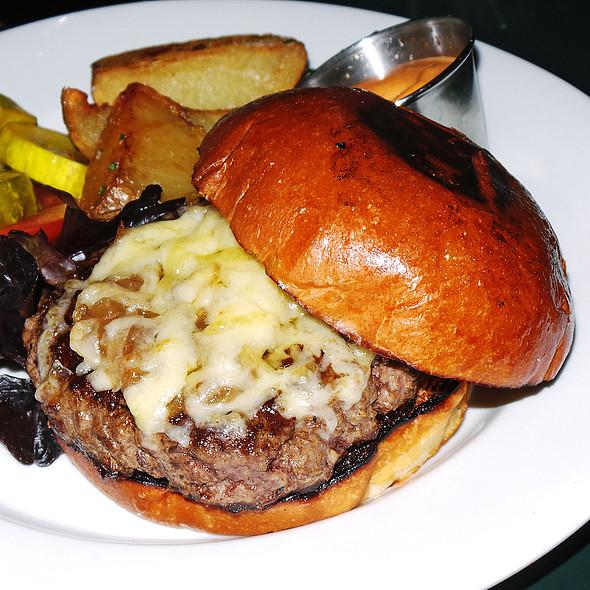 Bone Marrow & Brisket Burger @ Swine