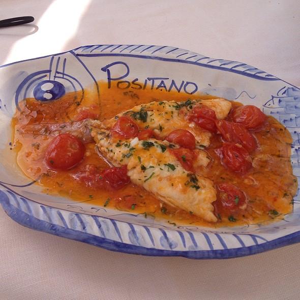 Pesce Del Giorno Allacqua Pazza @ Ristorante Bruno