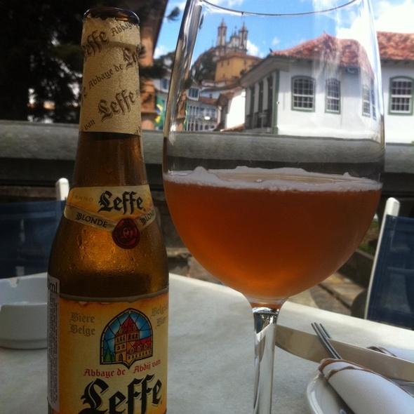 Leffe Blonde Belgian Beer @ O Passo Restaurante
