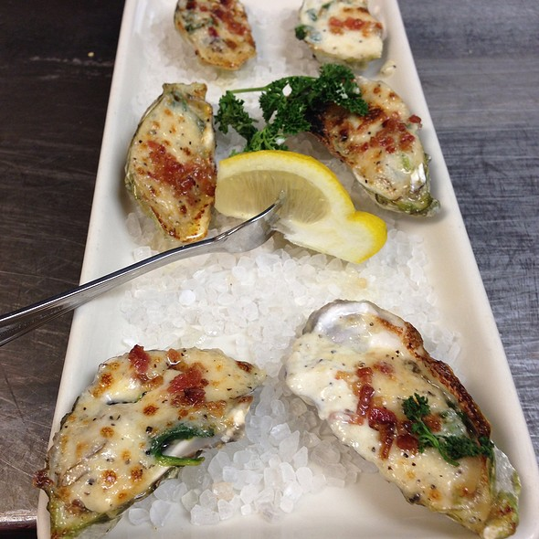 Baked Oysters @ Fog Harbor Fish House