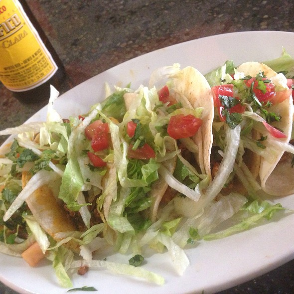 Tacos @ Mr. WEBO's Mexican Restaurant