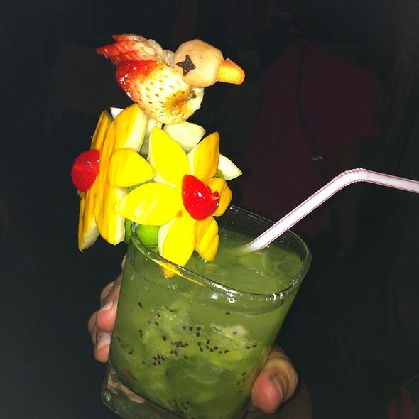 Caipirinha De Kiwi @ Restaurante Jardim Do Alchymist
