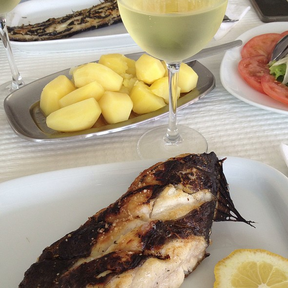 Peixe espada Grelhado @ Restaurante Filipe