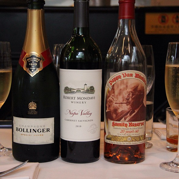 Whiskey, Wine & Champagne @ 美西西餐厅Chef too