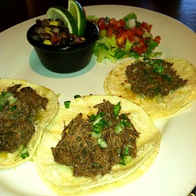 Beef Cheek Tacos - Wine Dive, Wichita, KS