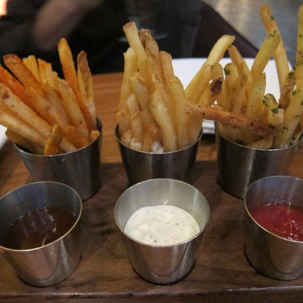Duck Fat Fries @ Michael Mina Strip Steak