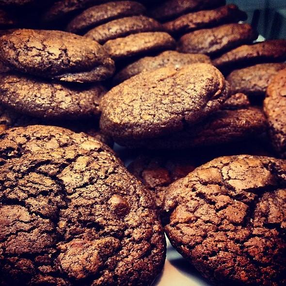 Os cookies de chocolate mais deliciosos que já provei @ Babette Bistrot e Pães