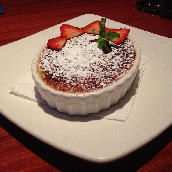 Creme Brulee @ Cafe Blue