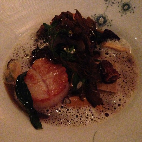 Seared Georges Bank Scallops - L'Espalier, Boston, MA