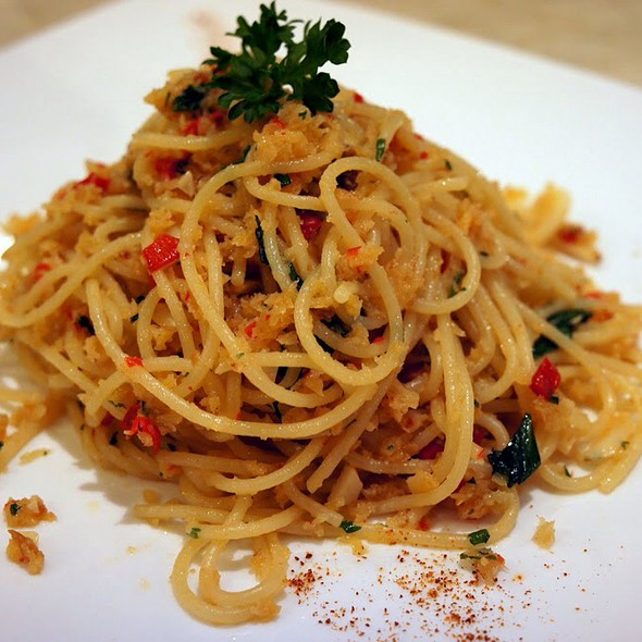 Spicy Spaghetti Thai Salted Fish