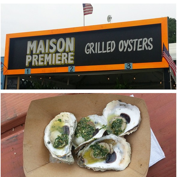 Grilled Oysters From Maison Premiere